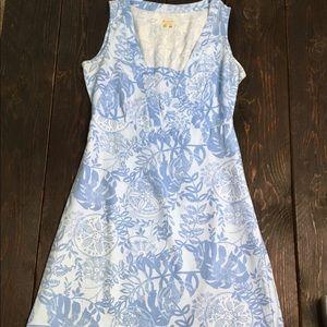 Columbia PFG Blue Floral Dress size Small
